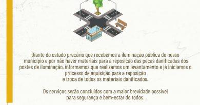 Comunicado Secretaria de Obras 02-02-2021