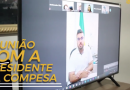 PREFEITO DIOGO CARLOS REALIZA REUNIÃO COM A PRESIDENTE DA COMPESA