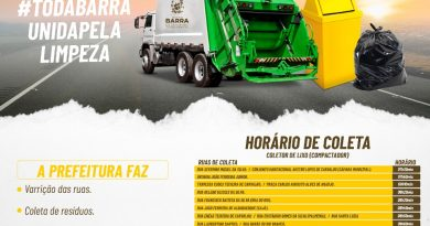 SAIBA OS HORARIOS DA COLETA DE LIXO NA SUA RUA